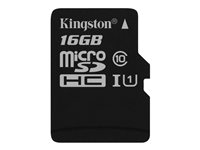 Kingston Canvas Select - Flashminnekort - 16 GB - UHS-I U1 / Class10 - microSDHC UHS-I SDCS/16GBSP